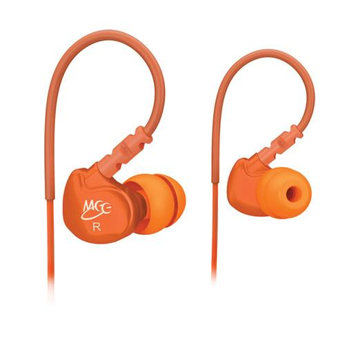 MEElectronics Sport-Fi M6 Memory Wire In-Ear EARPHONE-M6-OG-MEE