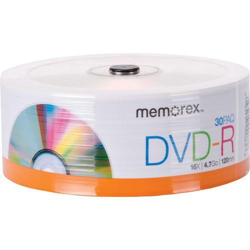 Memorex DVD-R 4.7GB 16x Disc (Spindle Pack of 30) 99083