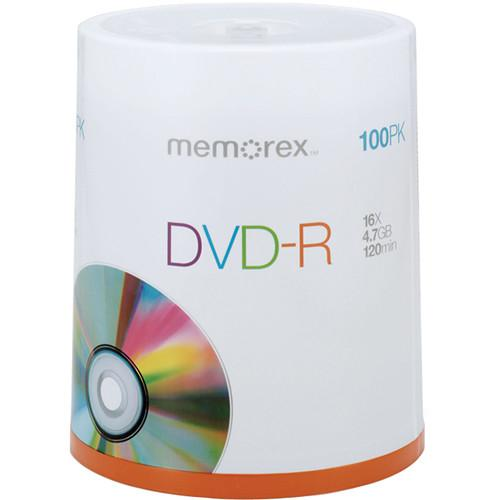 Memorex  DVD-R 4.7GB 16x Single Sided Discs 05641