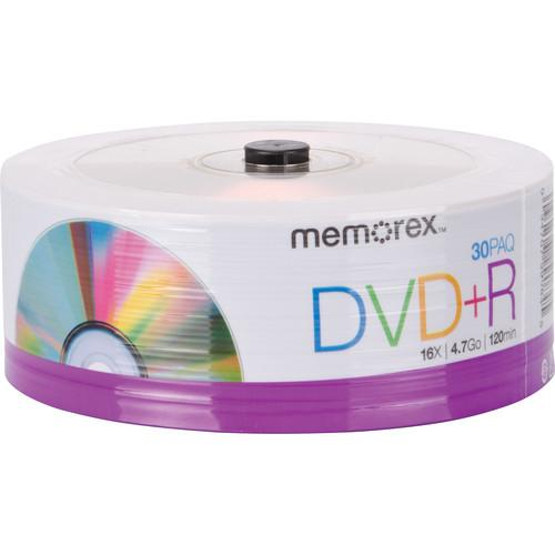 Memorex DVD R 4.7GB Single-Sided 16x Recordable Discs 99084