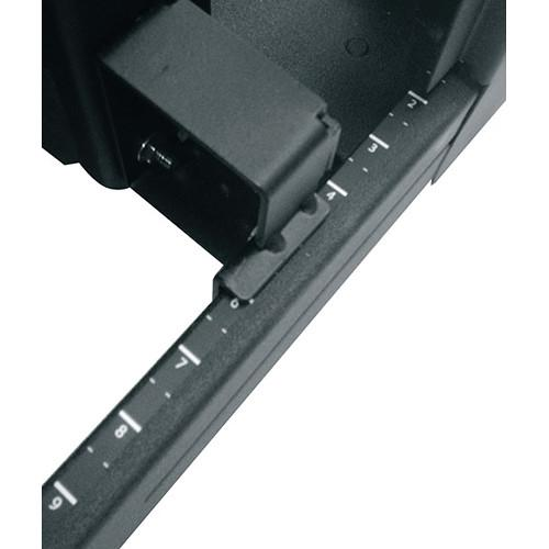 Middle Atlantic 12-24 Tapped Rack Rail for SNE SNE27-1224-RR24