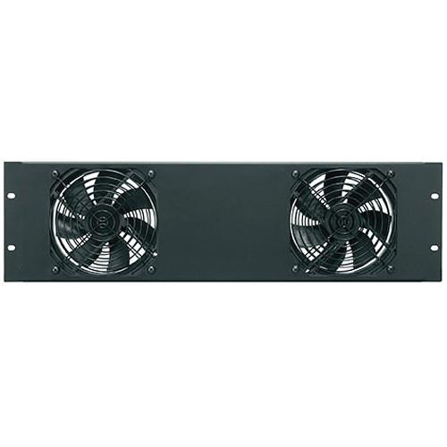 Middle Atlantic FANPNL-2DC 138 CFM Essex Fan Panel FANPNL-2DC