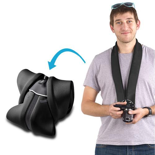 miggo Strap and Wrap for Mirrorless and Compact MW SR-CSC BK 50