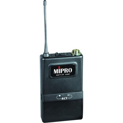 MIPRO ACT-3T Bodypack Transmitter with mini-XLR connector ACT3TA