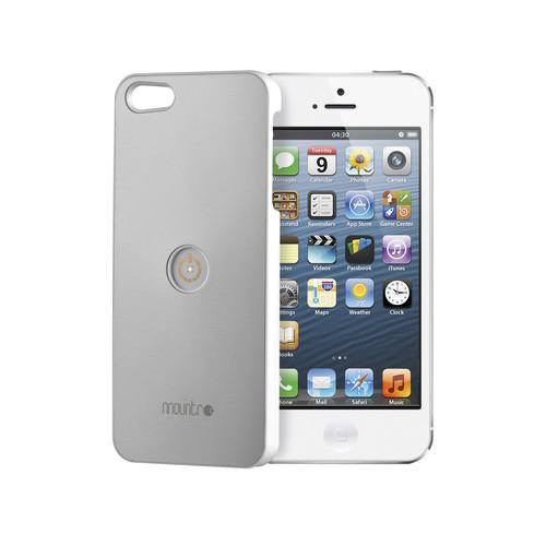 Mountr Case for iPhone 5/5s (Aluminum/Gray) CO1-I5G