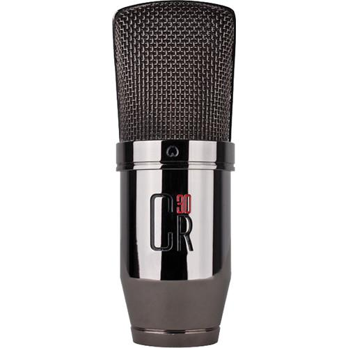 MXL CR30 Large Diaphragm Condenser Microphone (Black Chrome)