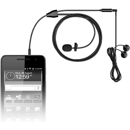 MXL MM-160 Lavalier Microphone for Cell Phones and Tablets MM160
