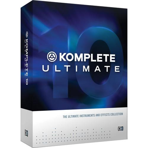 Native Instruments KOMPLETE 10 ULTIMATE Upgrade - Virtual 22835