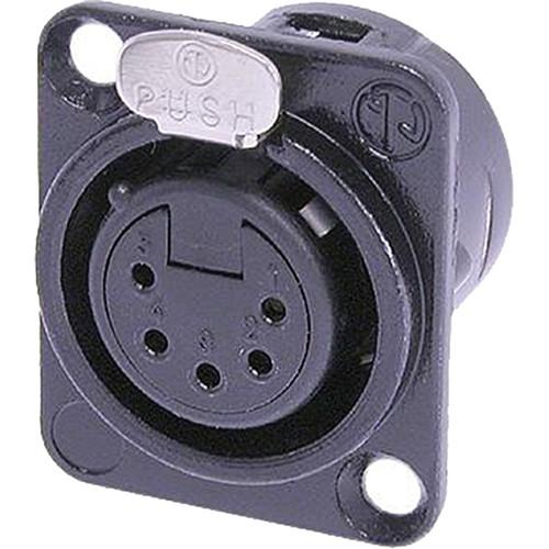 Neutrik NC5FD-L-B-1 Female Receptacle Connector NC5FD-L-B-1