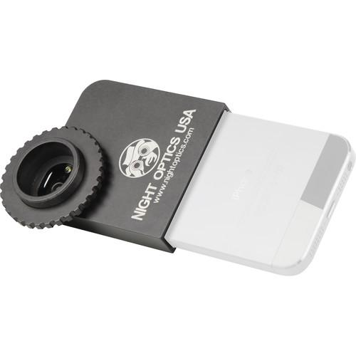 Night Optics iPhone 4/4s or 5/ 5s Adapter Plate CAM-IP