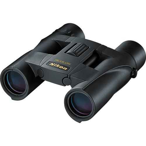 Nikon 10x25 Aculon A30 Binocular with Clamshell Packaging 6492