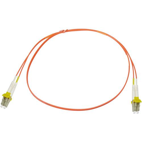 NTW net-Lock LC/LC Fiber Patch Cable OM1 Multimode NLKLCLC-03MDR