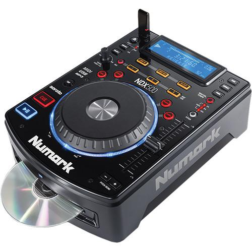 Numark NDX500 - USB/CD Media Player and Software NDX500