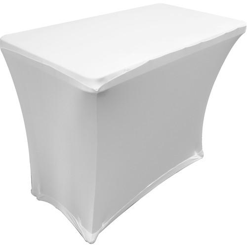 Odyssey Innovative Designs Scrim Werks Banquet Table SPATBL4 WHT