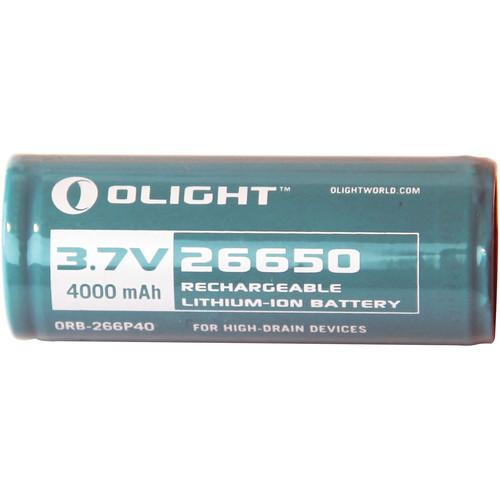 Olight 26650 Rechargeable Lithium-Ion Battery 26650-BATTERY