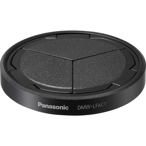 Panasonic Lens Cap for Lumix DMC-LX100 (Black) DMW-LFAC1K