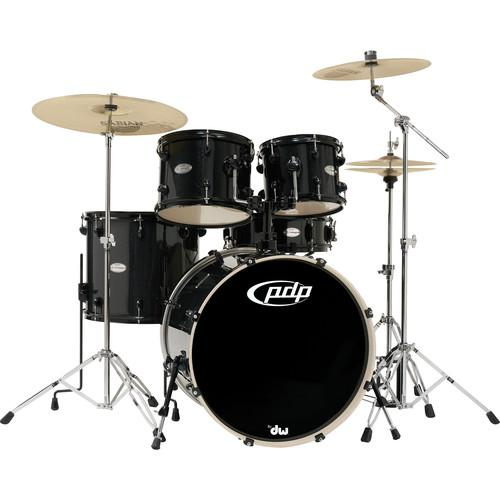 PDP Mainstage 5-Piece Drum Kit w/800 Hardware and PDMA22K8BK