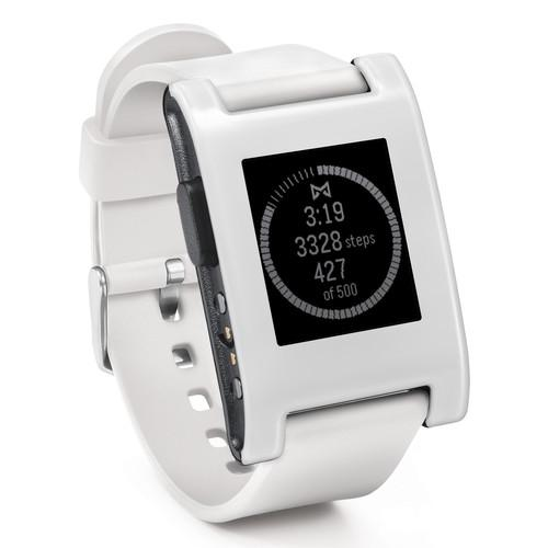 Pebble  Smartwatch (Arctic White) 301WH