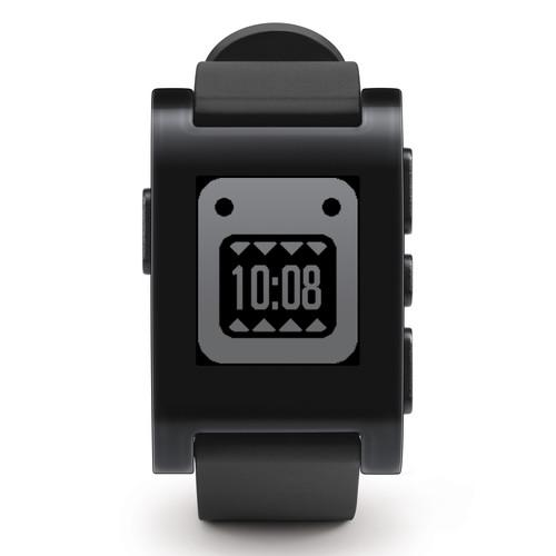 Pebble  Smartwatch (Jet Black) 301BL