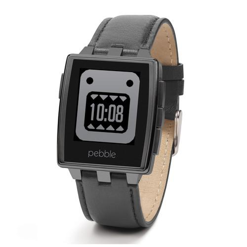Pebble  Steel Smartwatch (Matte Black) 401BLR