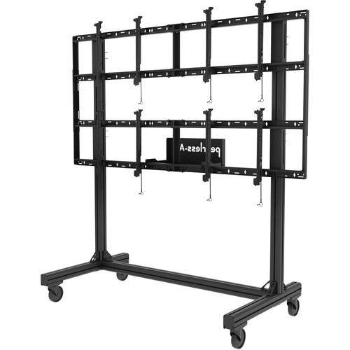 Peerless-AV Portable Video Wall Cart for 46 to DS-C560-2X2