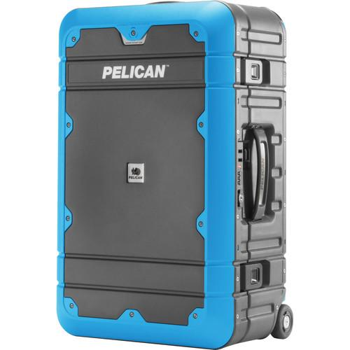 Pelican EL22 Elite Carry-On Luggage with Enhanced LG-EL22-GRYBLU