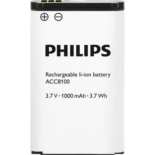 Philips ACC8100 Rechargeable Li-ion Battery for Philips ACC8100