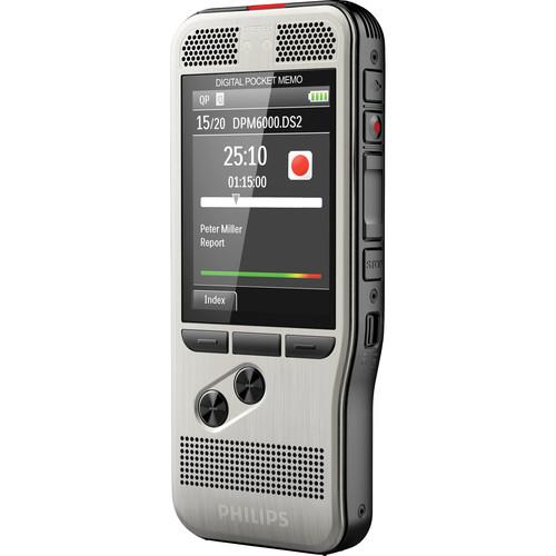 Philips DPM6000 Pocket Memo Digital Voice Recorder DPM6000/00