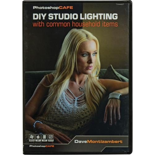 PhotoshopCAFE DVD-ROM: DIY Studio Light with Common DIY LIGHTING