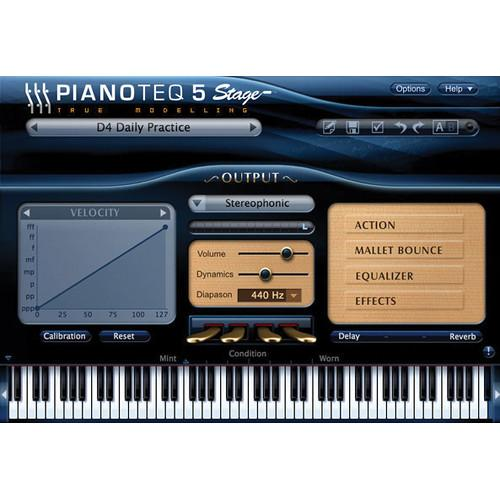Pianoteq Pianoteq 5 Stage - Virtual Piano (Download) 12-41378