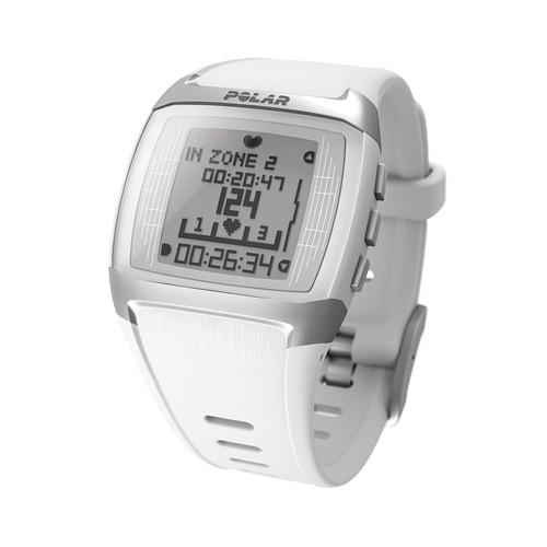 Polar FT60 Male Wrist-Watch Heart Rate Monitor (White) 90051006