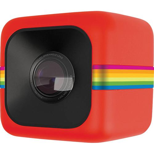 Polaroid Cube Lifestyle Action Camera (Red) POLC3R