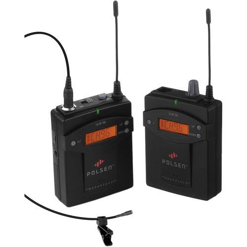 Polsen ULW-96 Camera-Mountable UHF Wireless ULW-96