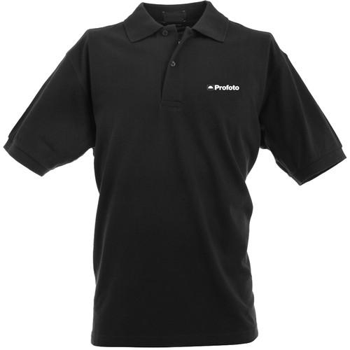 Profoto  Polo Shirt (Large, Black) 500073