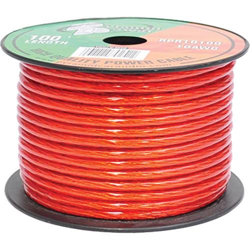 Pyramid  10 Gauge Red Power Wire (100') RPR10100