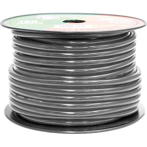 Pyramid  4 Gauge Black Power Wire (100') RPB4100