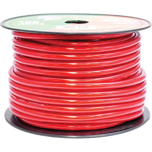 Pyramid  4 Gauge Red Power Wire (100') RPR4100