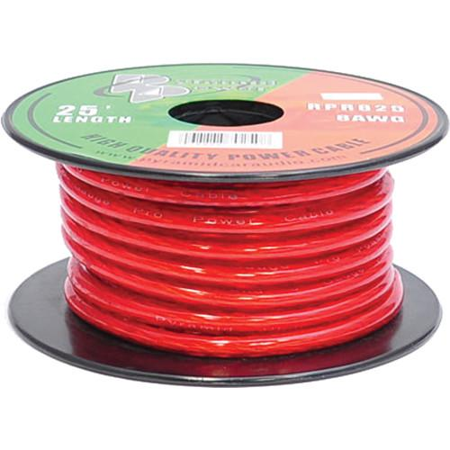 Pyramid  8 Gauge Red Power Wire (25') RPR825