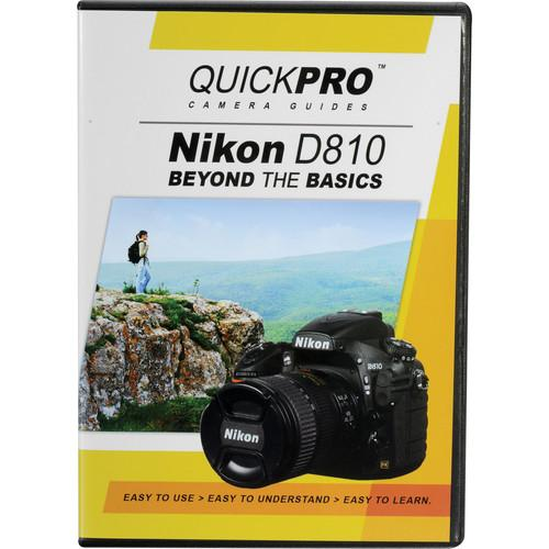 QuickPro  DVD: Nikon D810 Beyond The Basics 5058