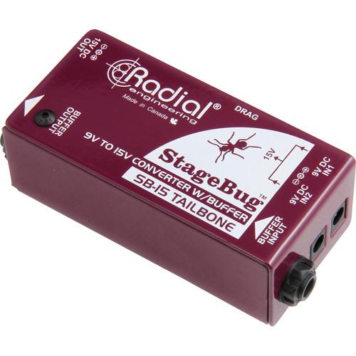 Radial Engineering StageBug SB-15 Tailbone Signal R800 0115
