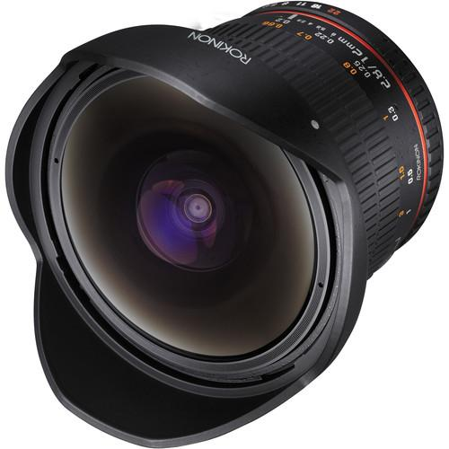 Rokinon 12mm f/2.8 ED AS IF NCS UMC Fisheye Lens for Canon 12M-C