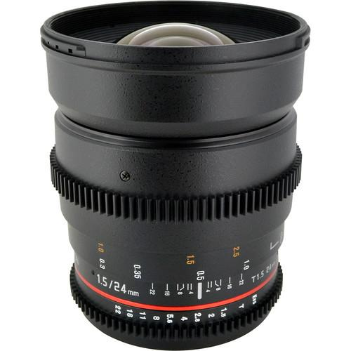 Rokinon Rokinon T1.5 Cine Lens Bundle for Nikon F-Mount