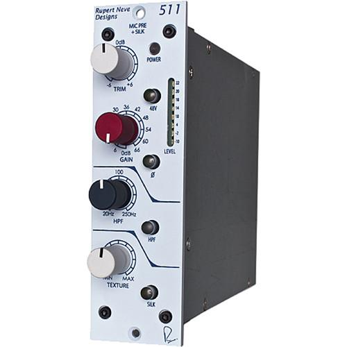 Rupert Neve Designs 500 Series Mic Preamp, EQ and Tape Emulator
