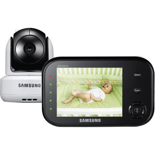 Samsung SEW-3037W SafeVIEW Pan/Tilt Camera Video Baby SEW-3037W