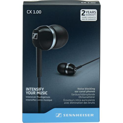 Sennheiser  CX 1.00 Earphones (Black) 506083