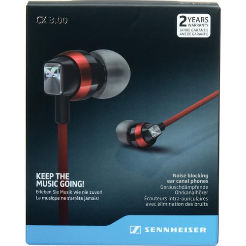 Sennheiser  CX 3.00 Earphones (Red) 506245