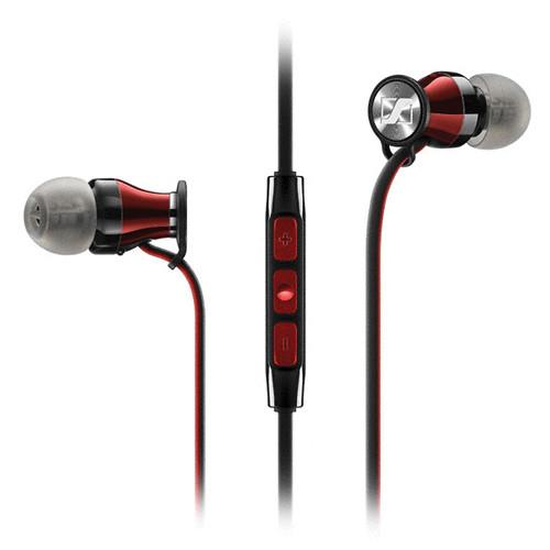 Sennheiser Momentum In-Ear Headphones (Apple iOS, Red) 506231