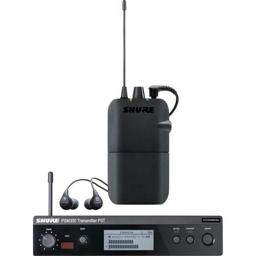 Shure PSM 300 Stereo Personal Monitor System P3TR112GR-J13