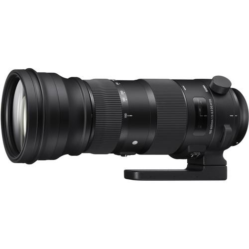 Sigma 150-600mm f/5-6.3 DG OS HSM Sports Lens for Canon 740-101