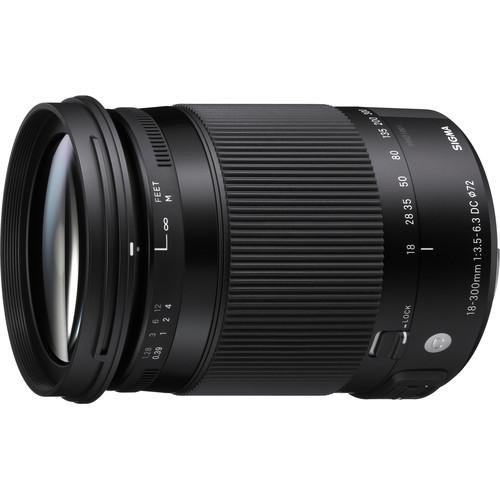 Sigma 18-300mm f/3.5-6.3 DC MACRO HSM Contemporary Lens 886205